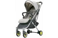 Детская коляска трансформер Xiaomi BEBEHOO START Lightweight Four-wheeled Stroller Grey